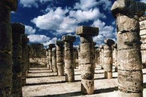 Las 1000 columnas de Chichén Itzá