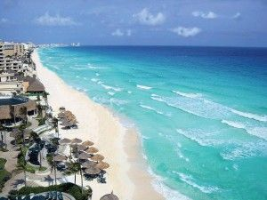 playa zona hotelera de Cancún