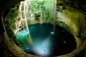 Cenote ik kil, Chichén Itza con Excursiones Riviera Maya, Exotik Mayan Tours