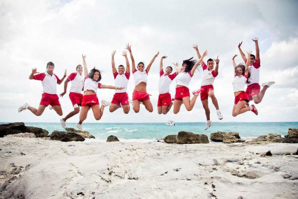 trabajadores hoteles en la riviera maya