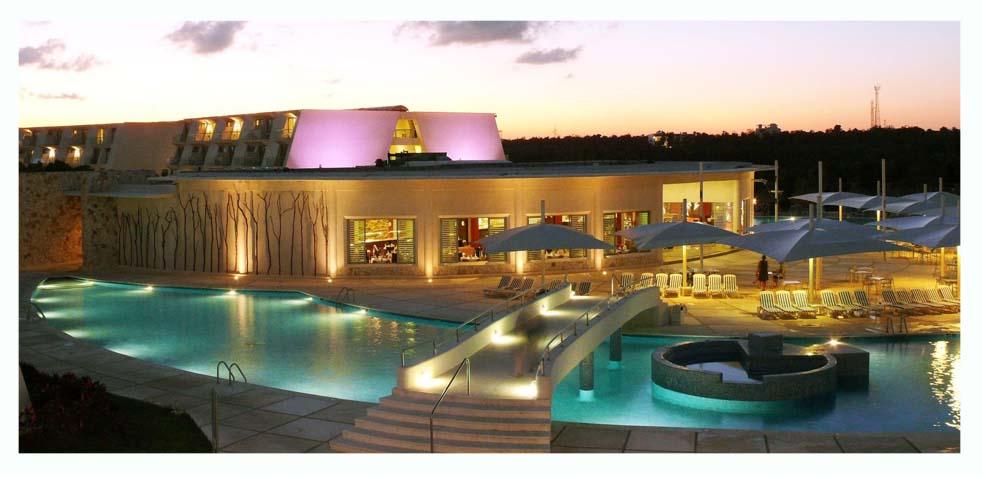 lujosos hoteles todo incluido en riviera maya