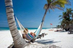 Bellas playas en Isla Holbox