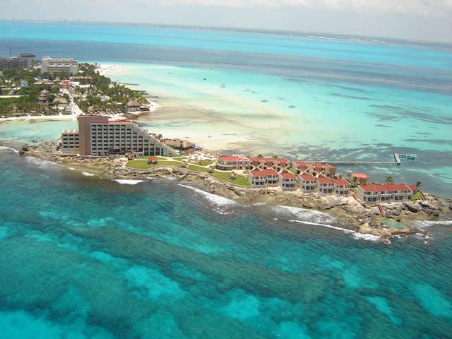 Zona hotelera de Isla Mujeres