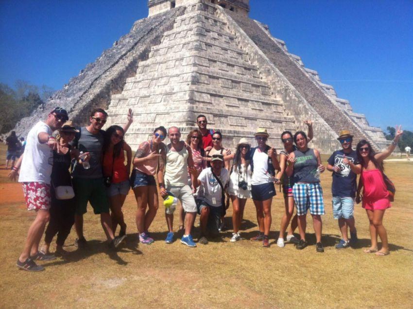 Tour: Chichén Itzá Ek Balam y Cenote ik kil secreto.