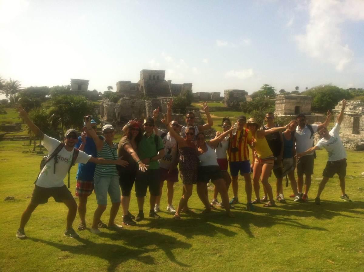 Tour: Tulum Cobá. Visita guiada a ruinas Mayas.