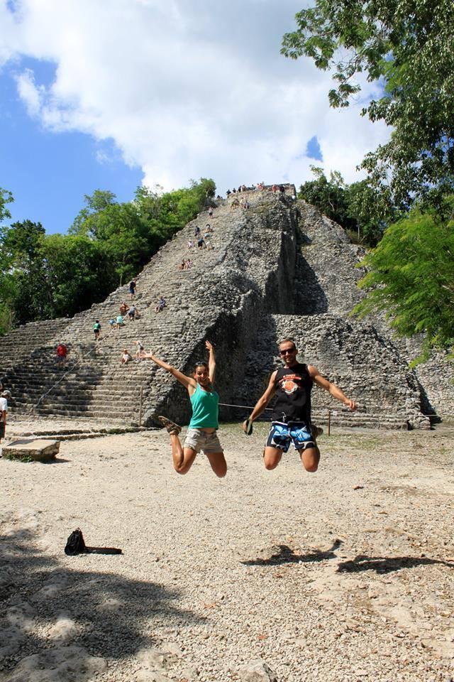 Tour: Tulum cobá. Visita guiada a la pirámide de Nochoc Mul.