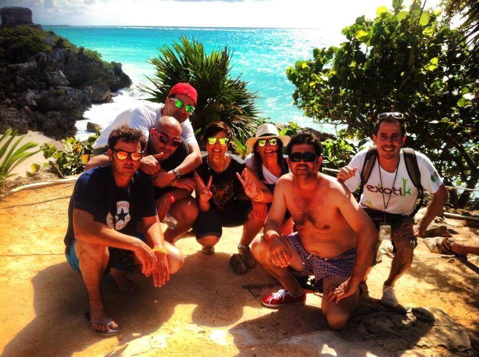 Tour: Tulum cobá. Visita guiada a las ruinas playa Paraiso.