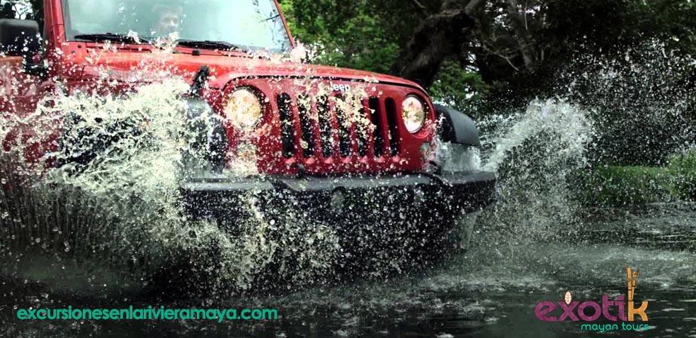 los mejores lugares para visitar con un coche de alquiler en riviera maya