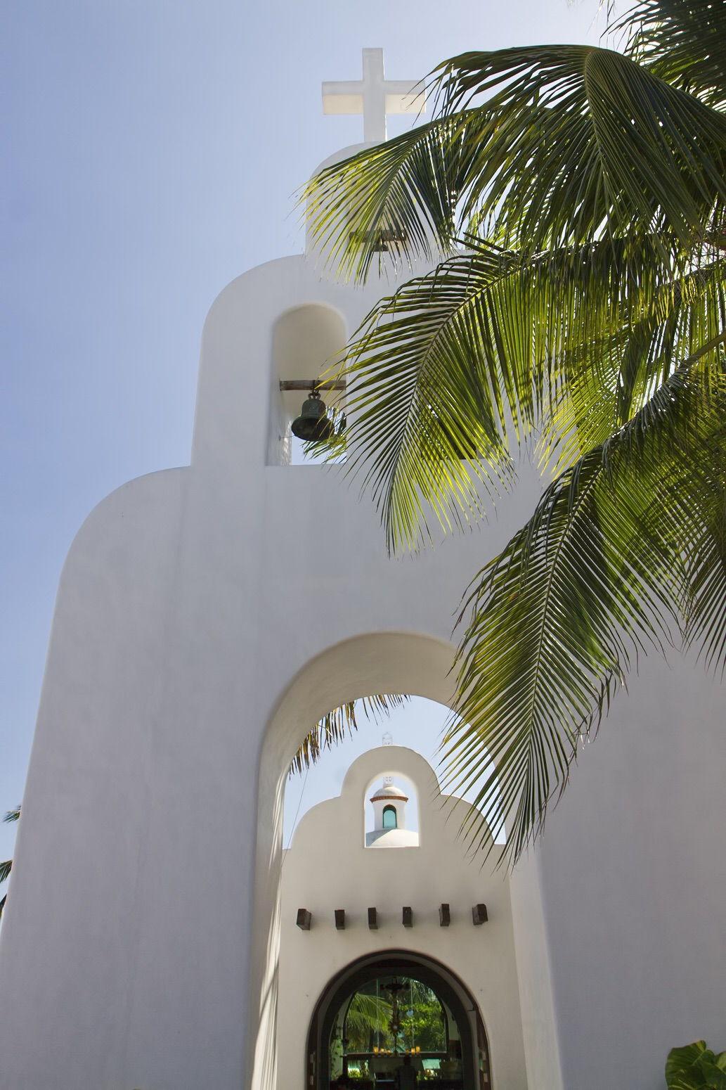 Iglesia de la playa del Carmen
