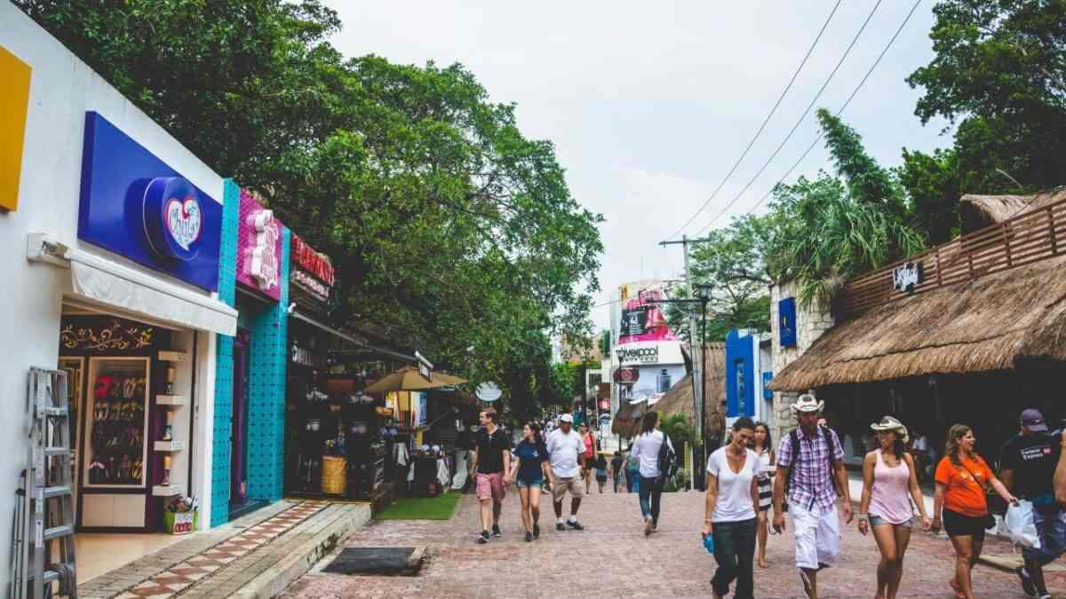 Un paseo por Playa del Carmen