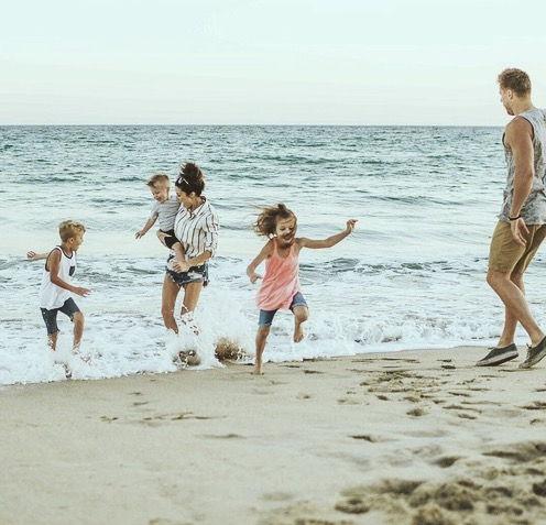 Niños en la Riviera Maya