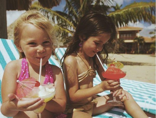 los niños en la riviera maya