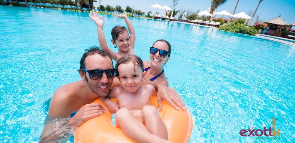 hoteles para niños en riviera maya
