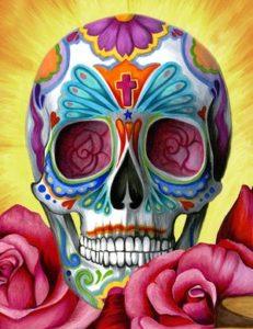 La calavera representa la muerte