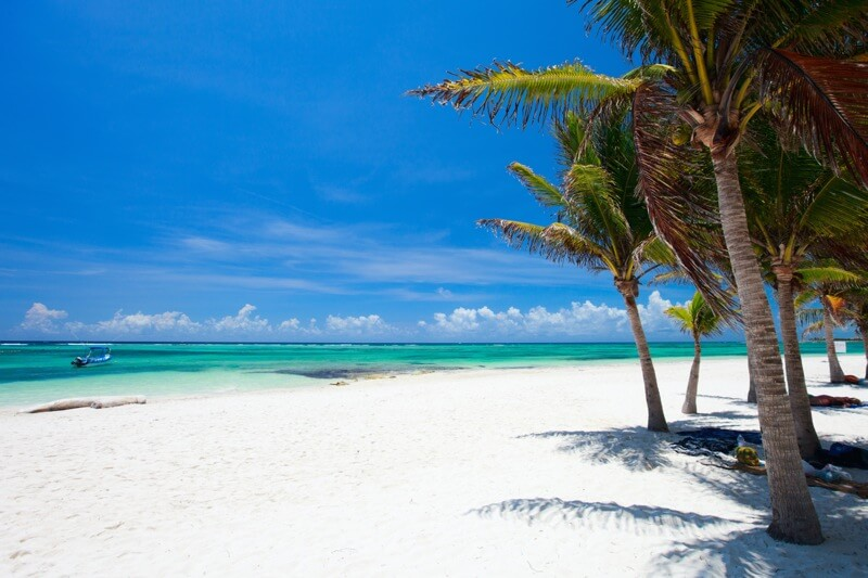 Playa Akumal en Riviera Maya