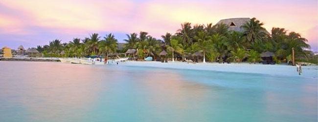 playas de la isla de Holbox