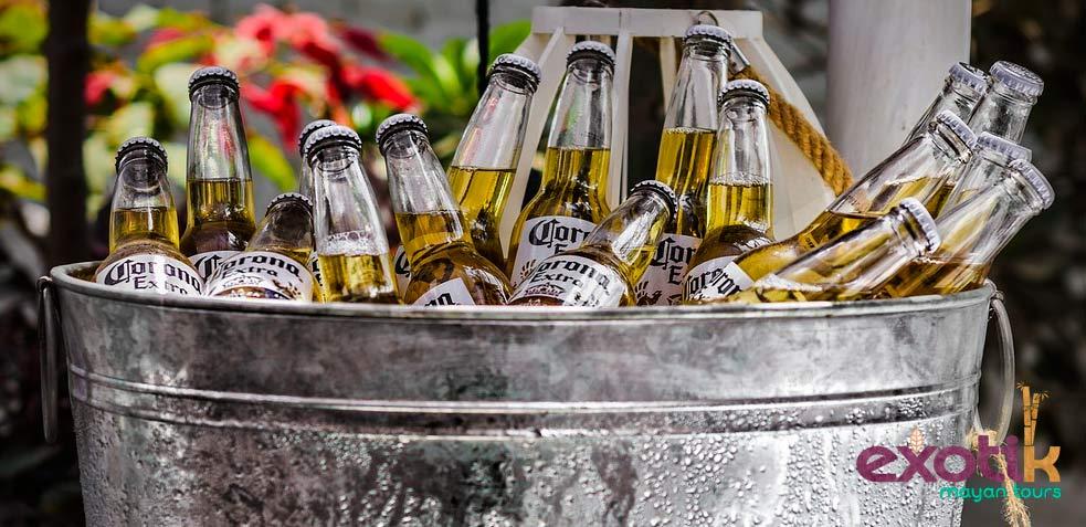 cerveza coronita akumal