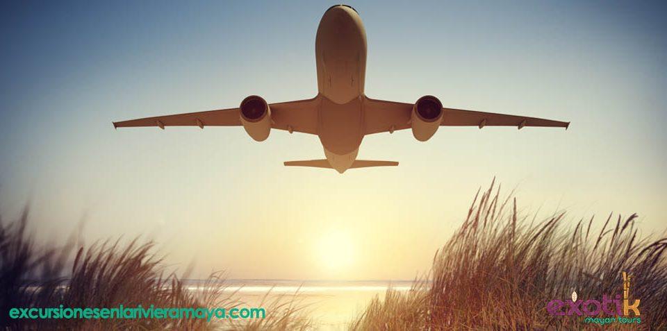 vuelos Riviera Maya