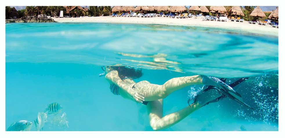 destinos para viajes de luna de miel en riviera maya