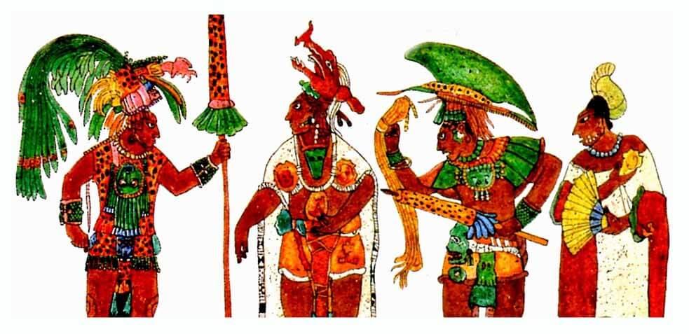 estamentos en la civilización maya