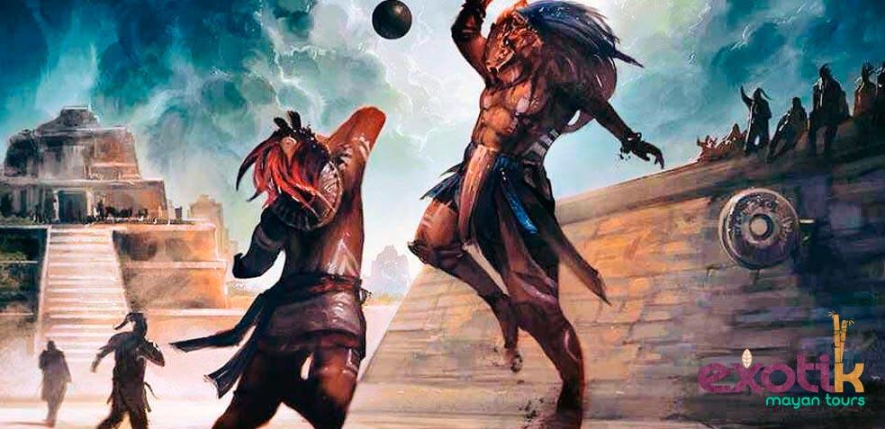 juego de pelota maya ek balam