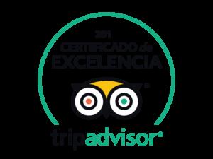 logo tripadvisor 2018 certificado excelencia