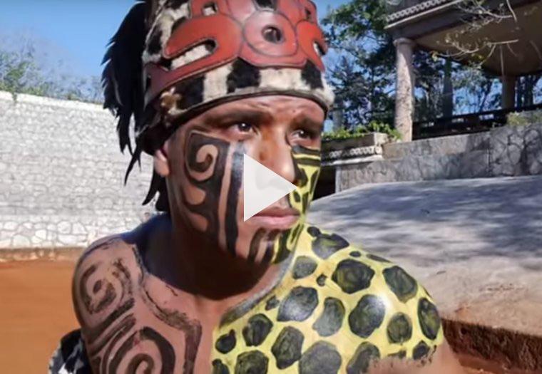 Vídeo juego pelota maya